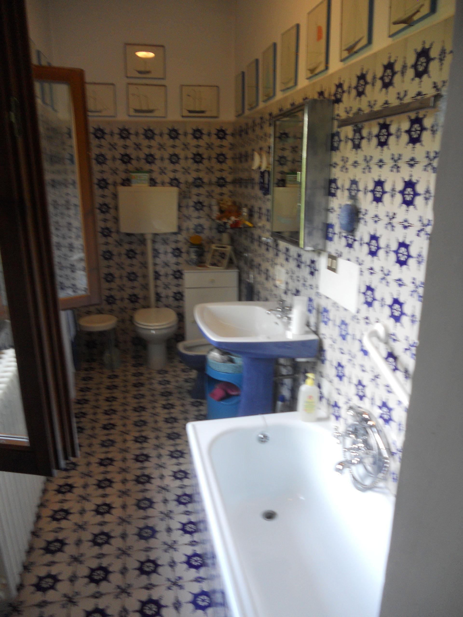 <p>il bagno blu</p>