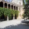 castello di Bornato - interno del palazzo con cortile