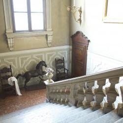 palazzo Cantoni Marca Di Rosa - lo scalone