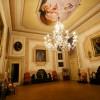 palazzo Cantoni Marca Di Rosa - salone con grande lampadario veneziano