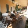 villa Guarneri - particolari e arredi del portico