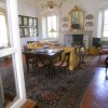 villa Guarneri - scorcio ad un salotto dal portico
